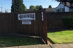 Briarwood Condominiums entrance